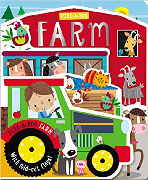 Peek-a-Boo Farm Board Book