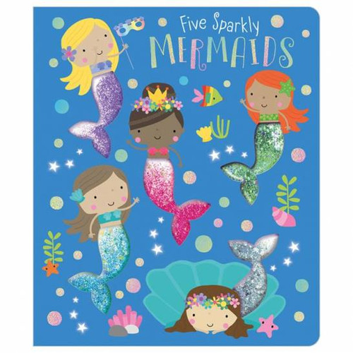 Five Sparkly Mermaids Board Book