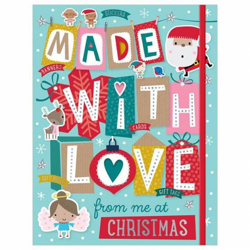 Made With Love From Me At Christmas Activity Book
