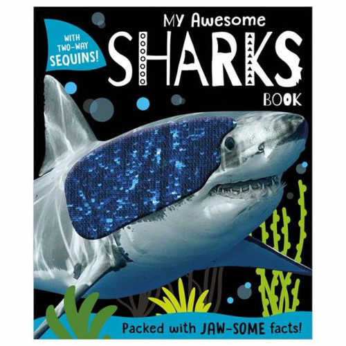 My Awesome Sharks Book Hardcover