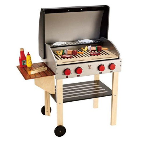 Gourmet Grill With Food