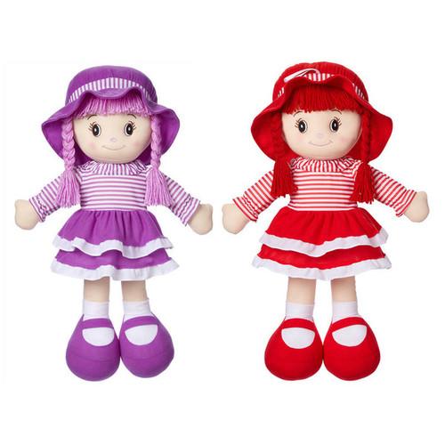 """Rag Doll Asst. Pink/Red 24"""""""