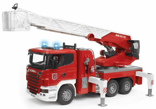 Scania R-Series Fire Engine With Water Pump