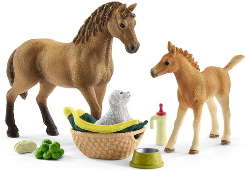Horse World - Baby Animal Care with Quarter Horse