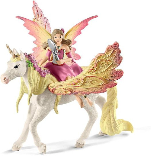 Bayala - Fairy Feya with Pegasus Unicorn