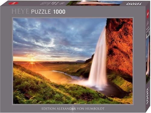 Seljalandsfoss Waterfall 1000 Piece
