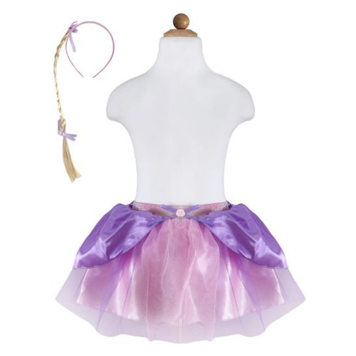 Rapunzel Skirt With Braid Size 4-6