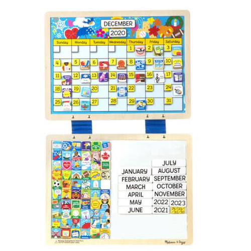 Magnetic Monthly Calendar