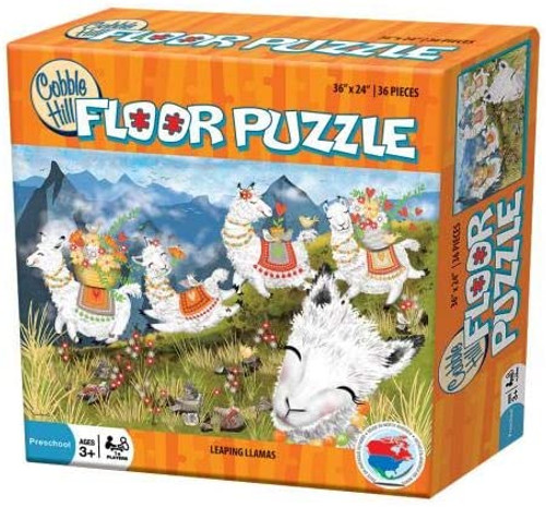 Leaping Llamas Floor Puzzle
