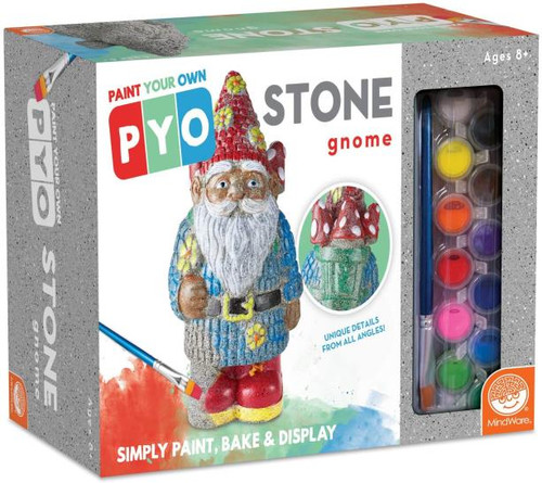 Paint Your Own Stone - Gnome