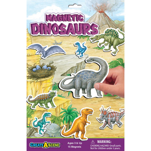 Magnetic Dinosaurs 2