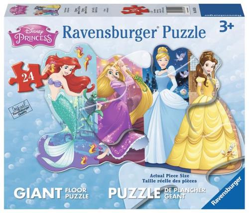 Pretty Princesses Floor Puzzle 24  piece