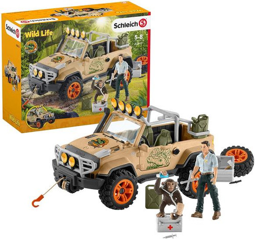 Wild Life - Off Roader With Rope Winch