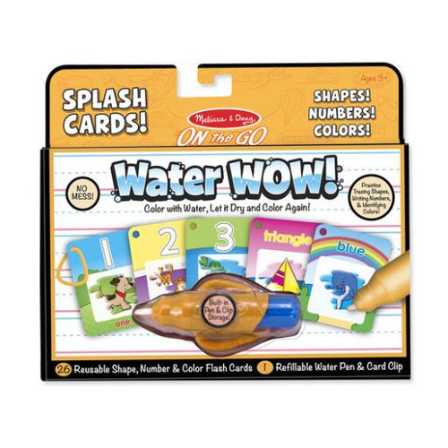 Water Wow Shapes, Numbers, Colors, Splash Cards
