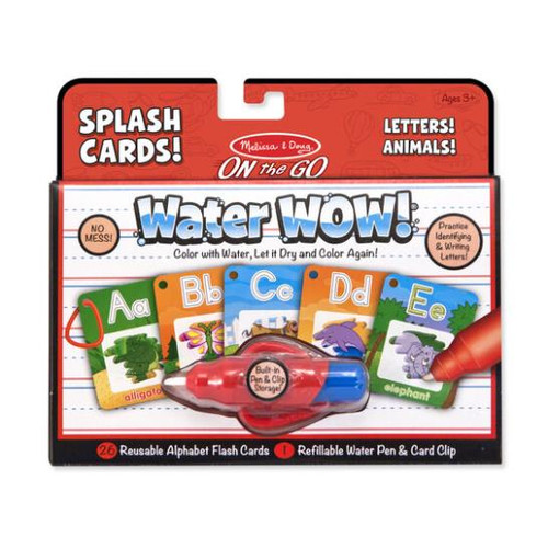 Water Wow Alphabet Cards