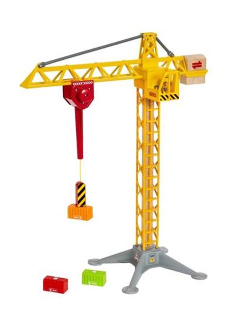 Light Up Construction Crane Brio
