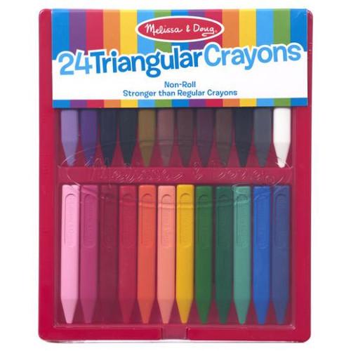 Triangular Crayons 24 pack