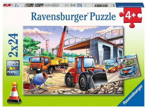 Construction & Cars 2X24 pc