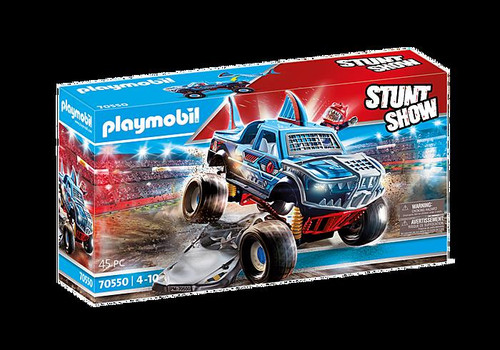 Stunt Show Shark Monster Truck