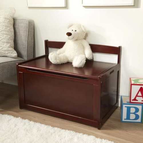 Toy Chest Espresso Wooden