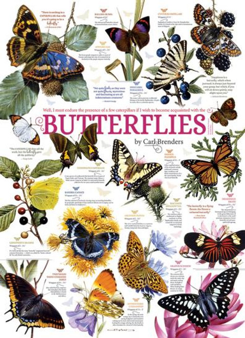 Butterfly Collection 1000 Piece