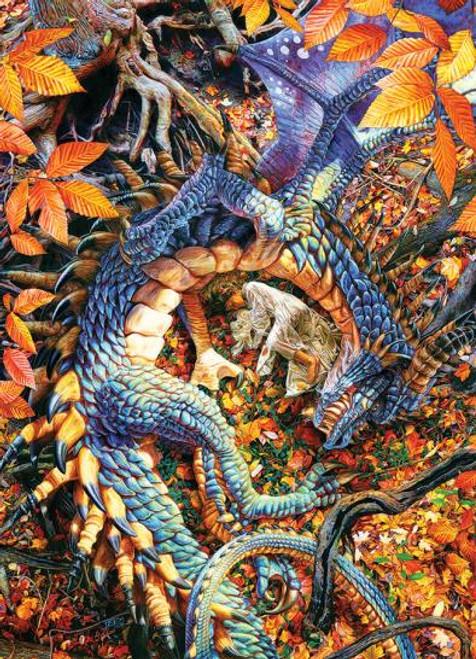 Abby's Dragon 1000 piece