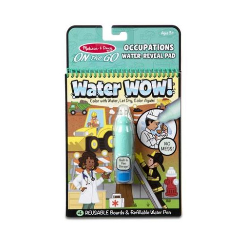 Water Wow! Occupations On The Go Water Reveal Pad