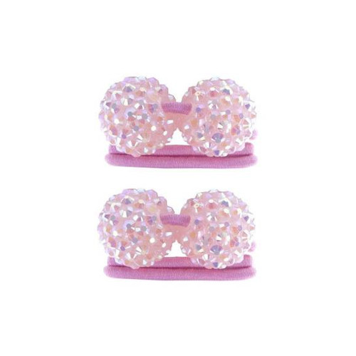 Funky Ball Ponytail Holders 2 piece asst.