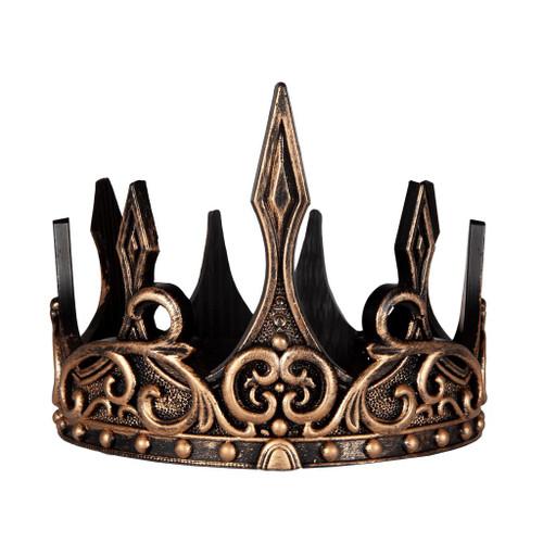 Medieval Crown Gold Black