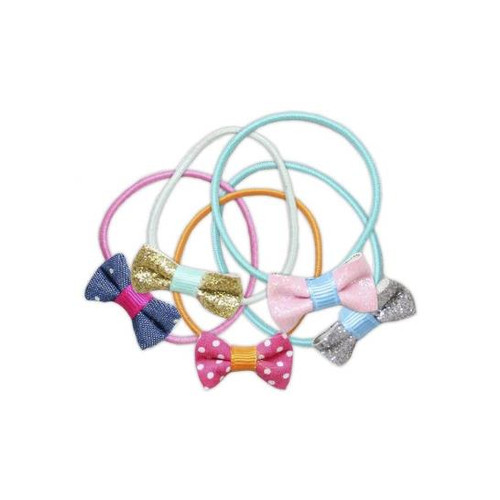 Fashion Fab Ponytail Holders 5 Pieces
