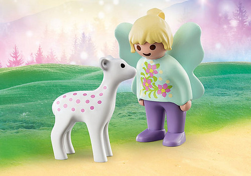 Fairy Friend With Fawn 1,2,3