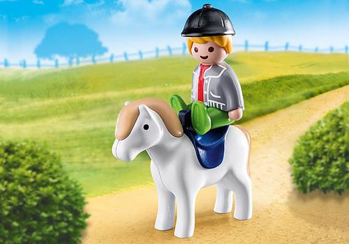 Boy With Pony 1,2,3