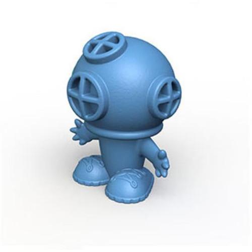 Bathtub Pals Blue Diver