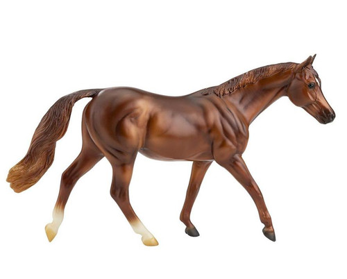 Freedom Series Horse Coppery Chestnut Thoroughbred