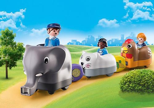 Animal Train 1,2,3