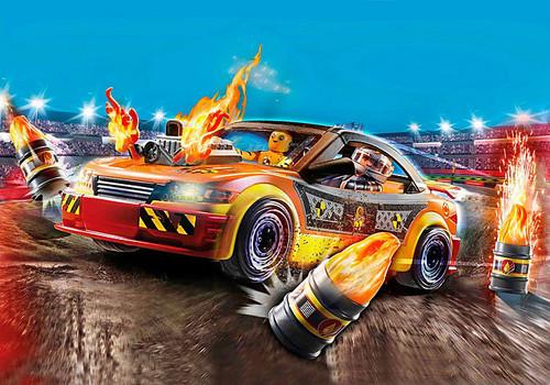Stunt Show Crash Car