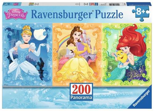Beautiful Disney Princesses  200 pc Panorama