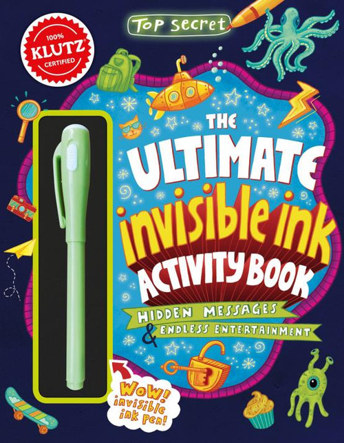 Top Secret - The Ultimate Invisible Ink Activity Book