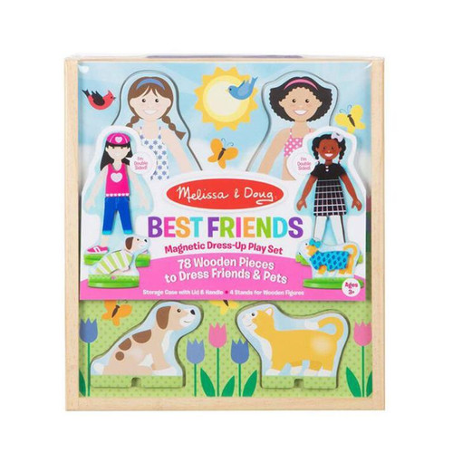Magnetic Dress-Up Play Set