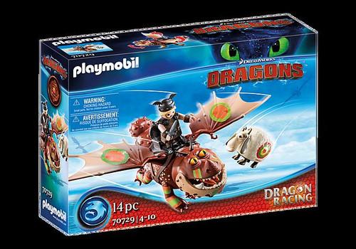 Dragon Racing - Fishlegs and Meatlug