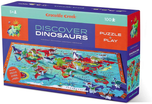 Discover Puzzle - Dinosaurs 100 piece