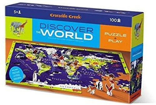 Discover Puzzle - World Animals 100 piece