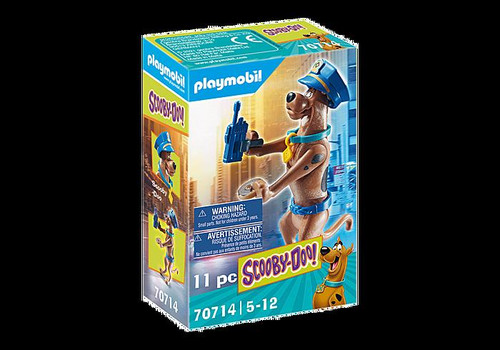 Scooby Doo - Collectible Police Figure