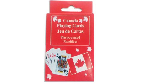 Canada Flag Playing Cards