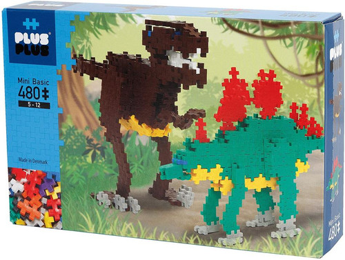 Mini Basic Dinosaurs 480 pieces