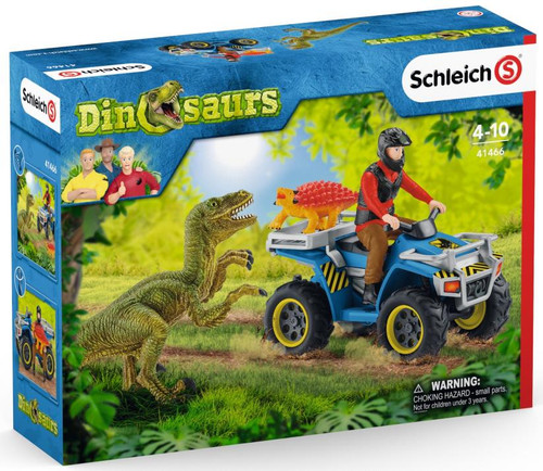 Dinosaurs - Quad Escape from Velociraptor