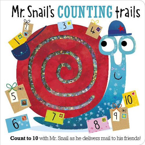 Mr. Snails Counting Trails Board Book