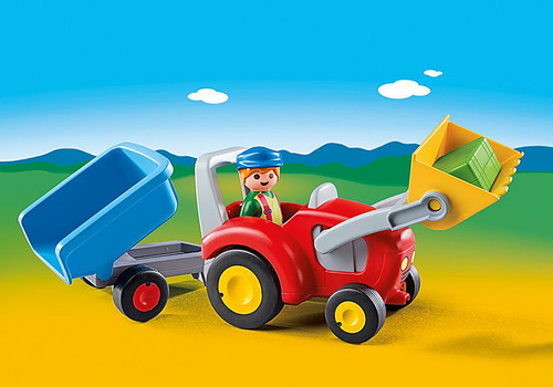 Tractor With Trailer 1,2,3