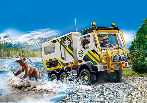 Outdoor Expedition Truck