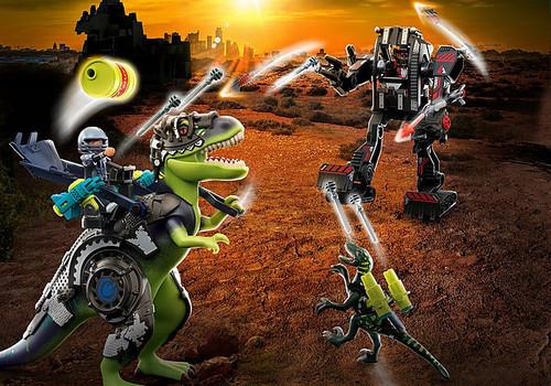 T-Rex - Battle of the Giants